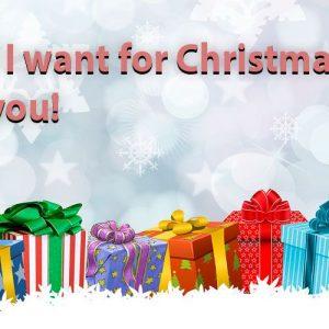 All I want for Christmas is you. Villancico moderno para niños