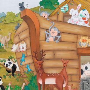 El Arca de Noé. Historia bíblica para niños