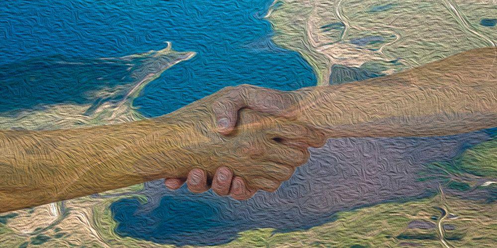 Leyenda de Uruguay sobre los celos: Las dos lagunas
