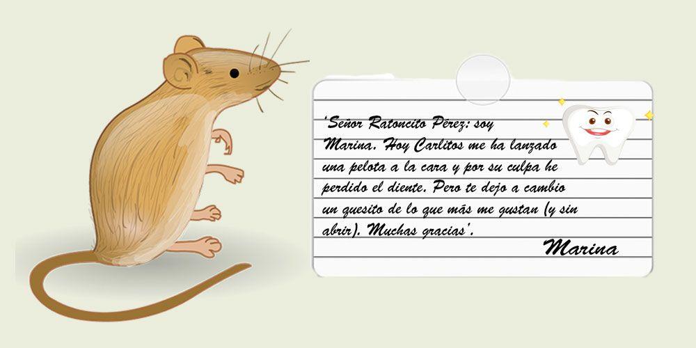 Cuento para niños sobre el Ratoncito Pérez: Carta al ratoncito Pérez