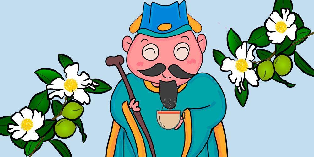 Leyenda china para niños: La leyenda del té
