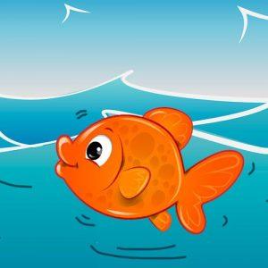 En el agua clara. Canción infantil popular para niños
