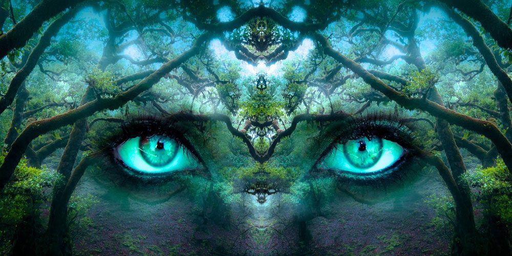 Una leyenda sobre el poder de la tentación: los ojos verdes