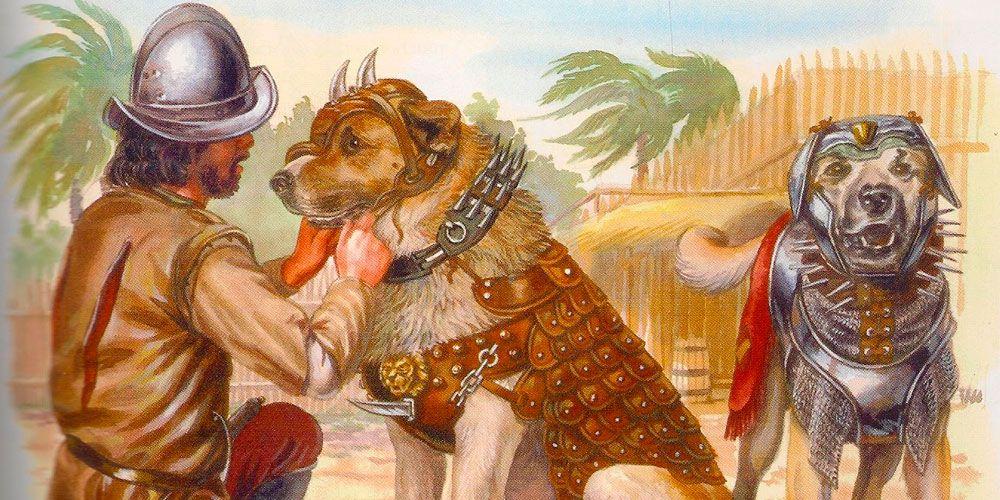 Leyendas con valores para niños: El perro del conquistador