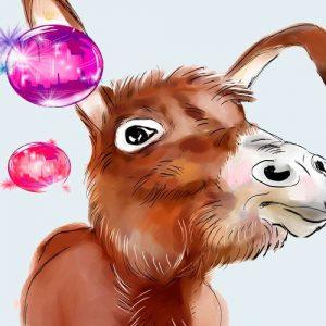 Pobre burro. Poesía de Gloria Fuertes para niños