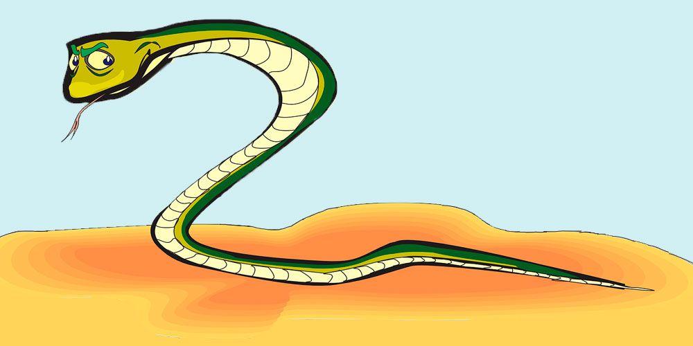 Fábula con valores para niños: El sabio y la serpiente