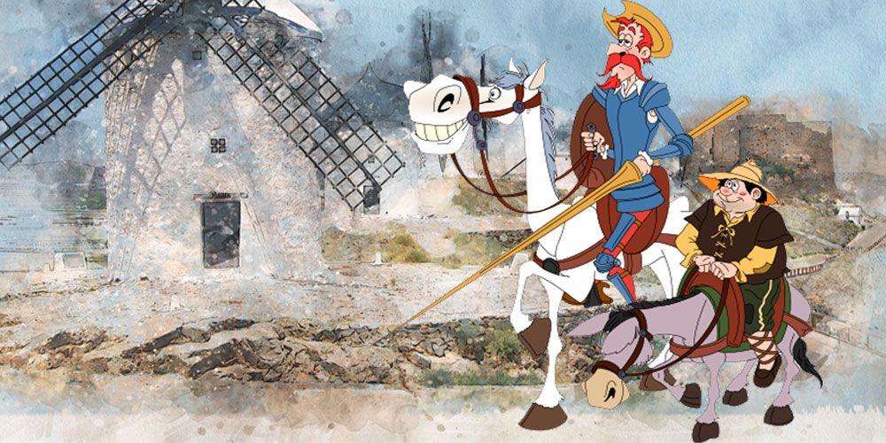 La historia de Don Quijote de la Mancha para