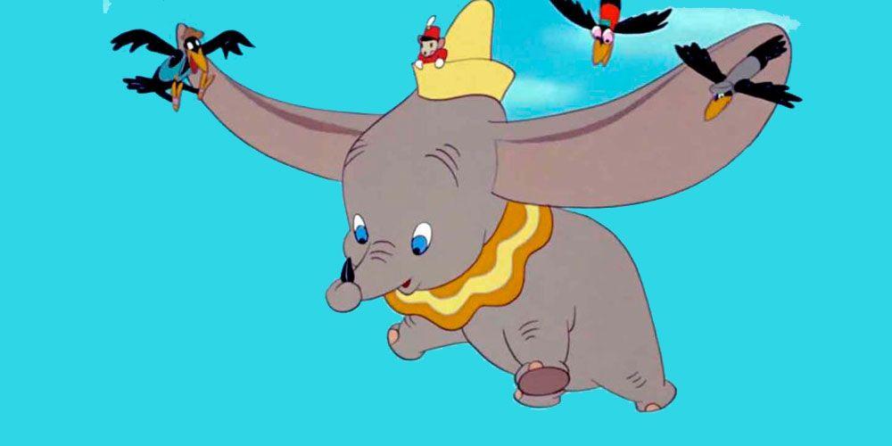 Cuento de Dumbo basado en la película de Disney