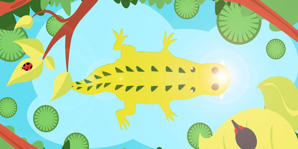 Leyenda de Nicaragua sobre la codicia: El lagarto de oro
