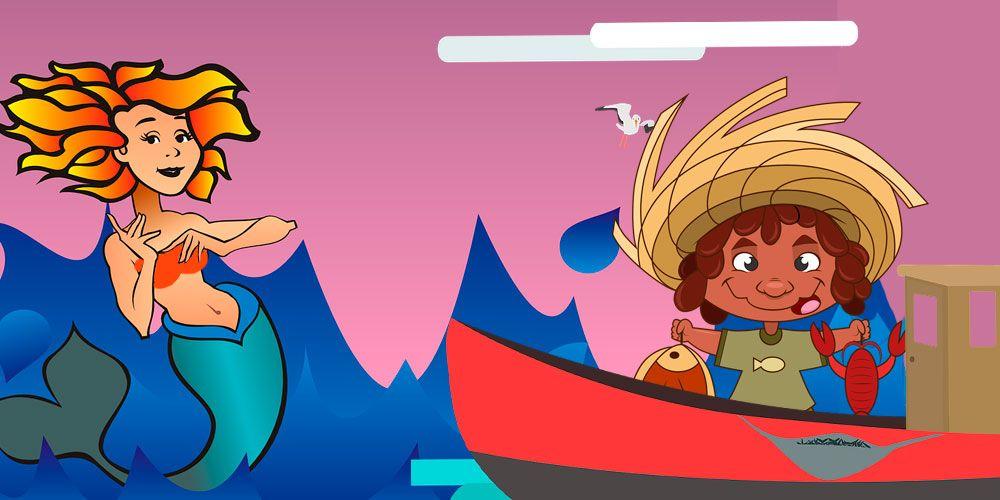 Leyenda de Honduras de La sirena y el pescador