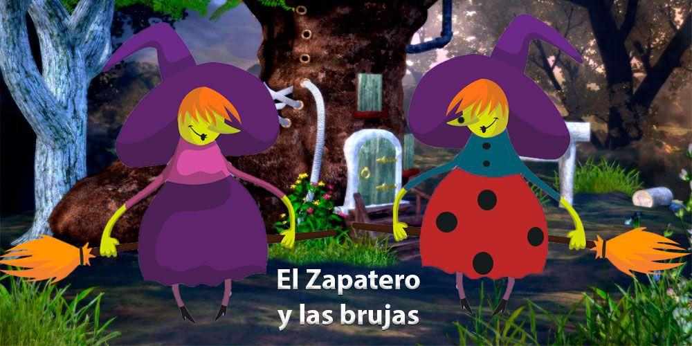 Guión de la obra de teatro para niños El zapatero y las brujas