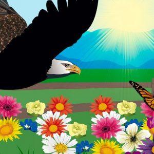 La mariposa y el águila. Una fábula sobre la humildad para niños y mayores