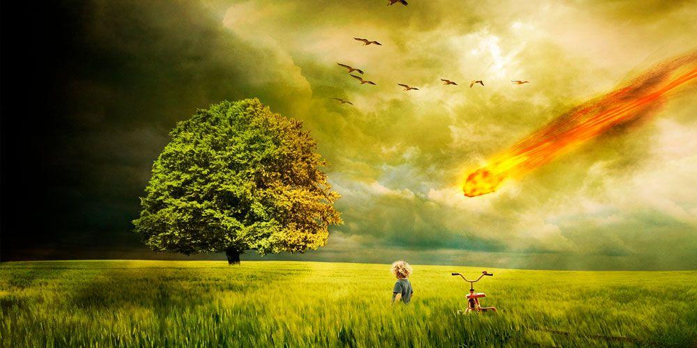 El color que cayó del cielo, un cuento de ciencia ficción