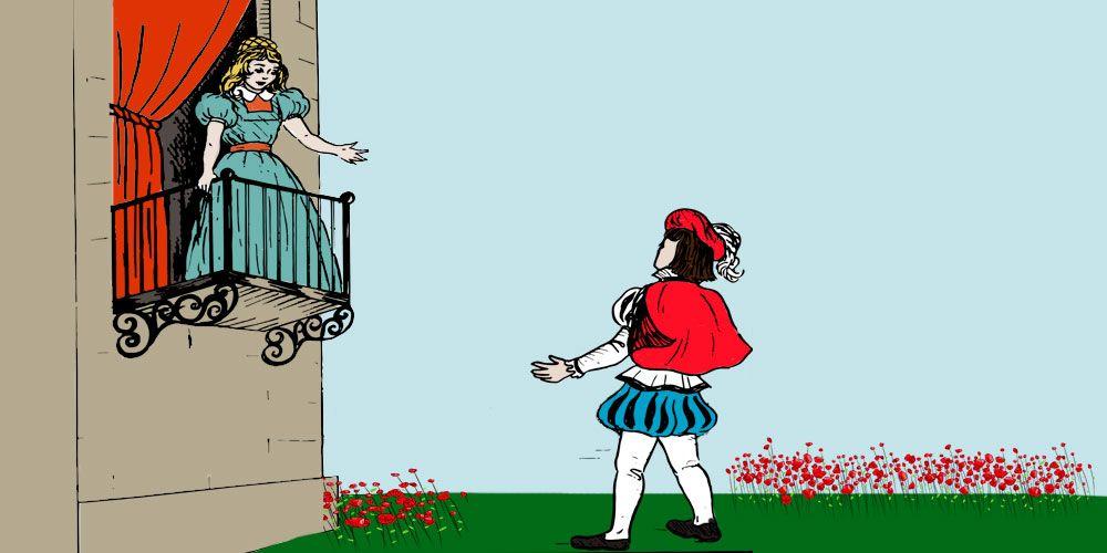 Guión d ela obra d eteatro Romeo y Julieta para niños