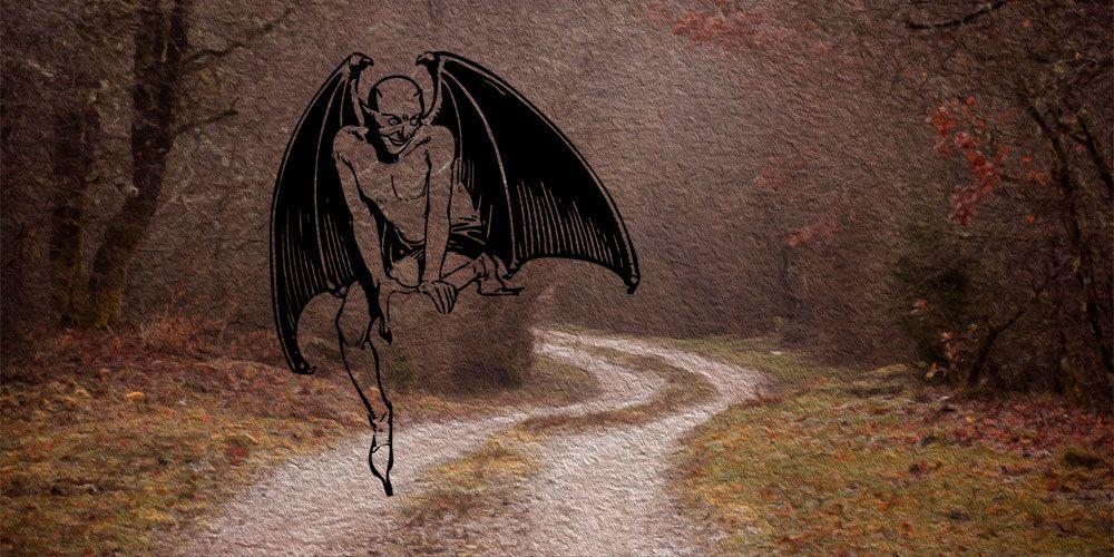Cuento de miedo para adolescentes: el espectro y el salteador de caminos