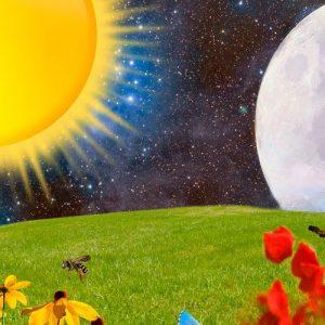 De la luna. Leyenda para niños sobre el origen de la luna y el sol