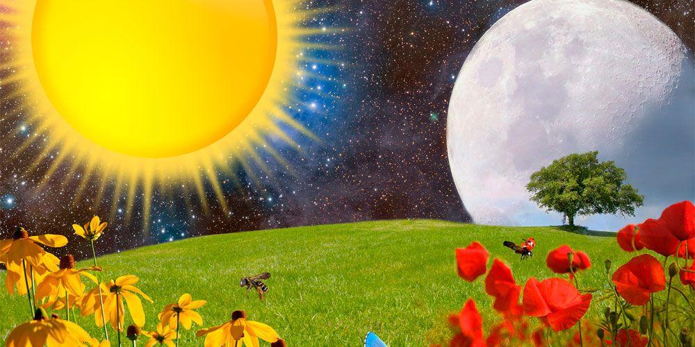 Leyendas de la Naturaleza: leyenda sobre el origen de la luna y el sol para niños