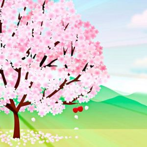 El hueso de la cereza. Fábula sobre las buenas acciones