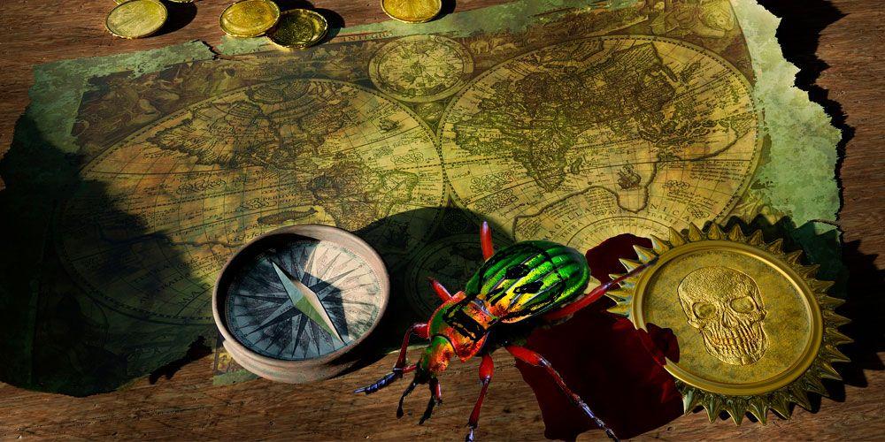 El escarabajo de oro, un relato de misterio de Edgar Allan Poe
