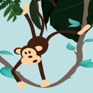 El mono hábil. Fábula sobre la prepotencia para niños