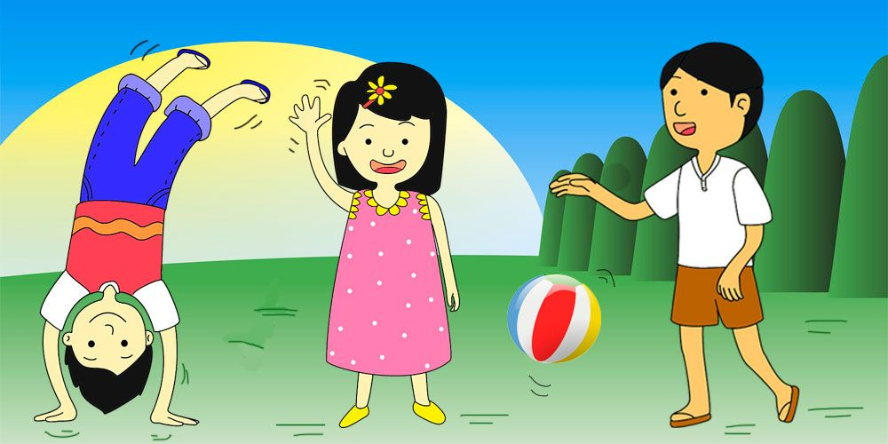 Los mejores juegos tradicionales para niños para el verano