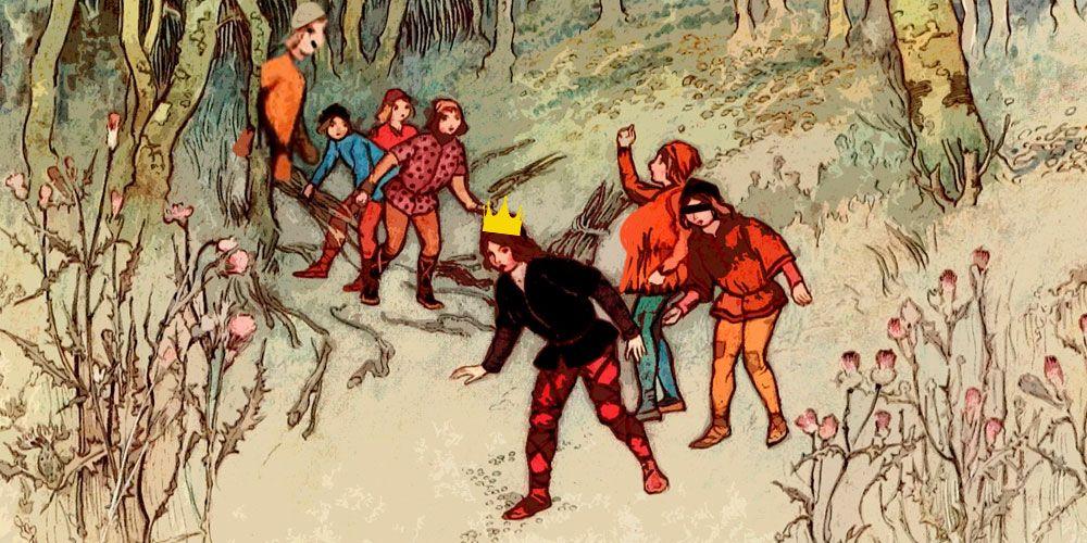 Cuento de los seis criados, de los Hermanos Grimm