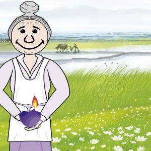 La anciana mendiga. Fábula budista sobre el poder de los deseos