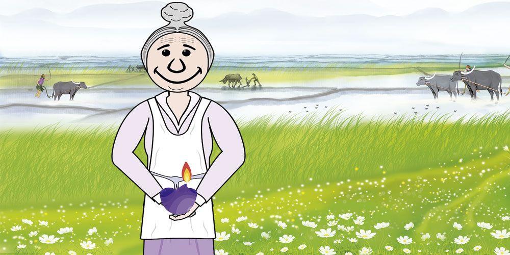La anciana mendiga, una fábula budista sobre el poder de nuestros deseos