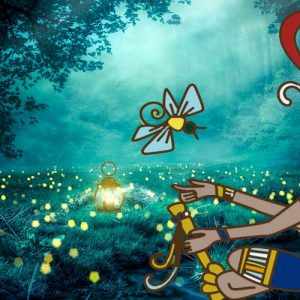 La luciérnaga. Leyenda maya para niños