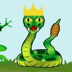 Las ranas que pidieron un rey. Fábula de Fedro sobre la convivencia