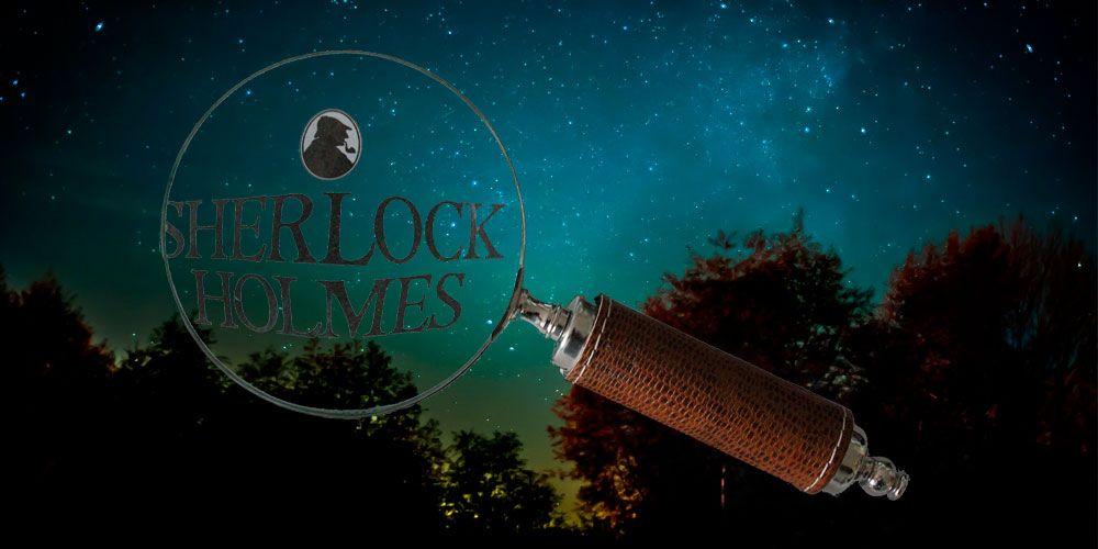 Sherlock Holmes y la excursión de campamento, una fábula corta sobre el sentido común