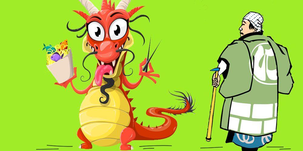El hombre que amaba a los dragones, una fábula china sobre las ilusiones