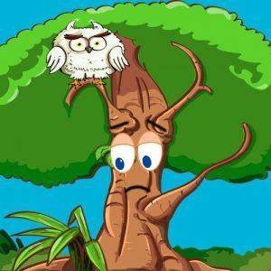 El árbol que no sabía quién era. Fábula oriental con valores