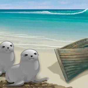 El pescador que se casó con una foca. Fábula corta de origen celta