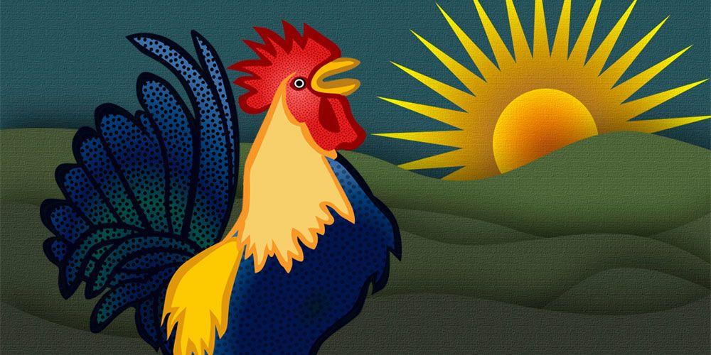 Por qué los gallos cantan de día, una curiosa leyenda filipina